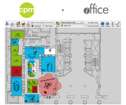CPM One Source Announces Partnership with iOffice